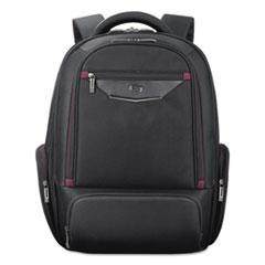 """Executive Backpack, 17.3"""", 18 1/2"""" x 7 3/4"""" x 16 1/4"""", Black"""