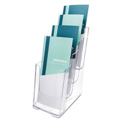MULTI COMPARTMENT DOCUHOLDER, 4 COMPARTMENTS, 4-7/8W X 8D X