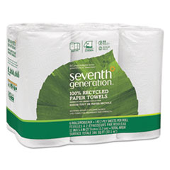 100 Recycled Paper Towel Rolls 2 Ply 11 x 54 Sheets 140 SheetsRL