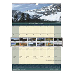 Recycled Landscapes Monthly Wall Calendar, 12 x 16 1/2, 2017