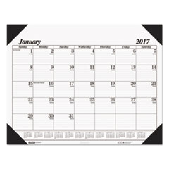 House of Doolittle One-Color Dated Monthly Desk Pad Calendar (124)