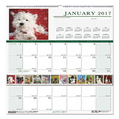Recycled Puppies Monthly Wall Calendar, 12 x 12, 2018