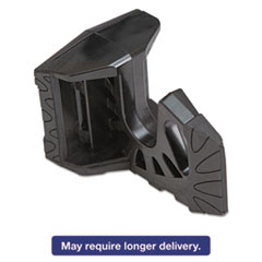 Any Angle Door Wedge, Polypropylene, 4 x 2 1/8, Black