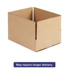 Brown Corrugated - Fixed-Depth Shipping Boxes, 12l x 10w x 3h, 25/Bundle