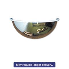 """Half-Dome Convex Security Mirror, 26"""" dia."""