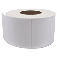 Industrial Direct Thermal Labels, 4 x 6,  White, 4 Rolls/Carton