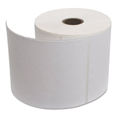 Portable Direct Thermal Labels, 4 x 6,  White, 36 Rolls/Carton