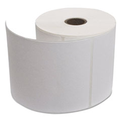 Desktop Thermal Transfer Labels, 4 x 6,  White, 16 Rolls/Carton