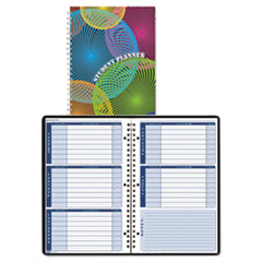 Nondated Assignment Book For Intermediate Grades, 7 x 11, Blue/White Pages