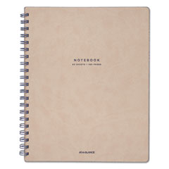 Collection Twinwire Notebook, Legal, 11 x 8 3/4, Tan/Navy Blue, 80 Sheets