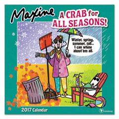 Maxine Wall Calendar, 12 x 12, 2017