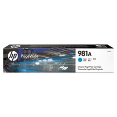 HP 981A (J3M68A) Cyan Original Ink Cartridge