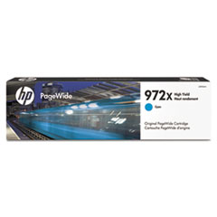 HP 972X (L0R98AN) High-Yield Cyan Original Ink Cartridge