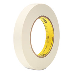 "256 Printable Flatback Paper Tape, 3/4"" x 60yds, 3"" Core, White"