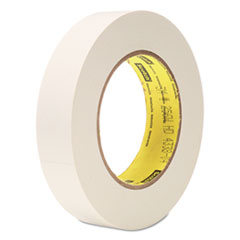 "256 Printable Flatback Paper Tape, 1"" x 60yds, 3"" Core, White"