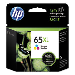 HP 65XL (N9K03AN) Tri-Color Original Ink Cartridge