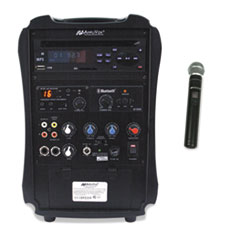 Rechargeable Wireless PA System, 36W Amp