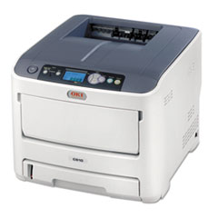 C610dn Laser Printer, Network-Ready, Duplex Printing