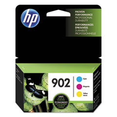 HP 902 (T0A38AN) Cyan, Magenta, Yellow Original Ink Cartridge, 3/Pk