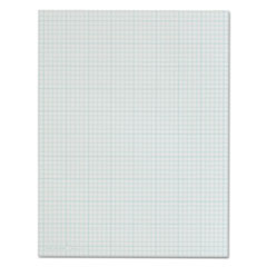 Cross Section Pads, 5 Squares, 8 1/2 x 11, White, 50 Sheets