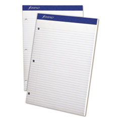 Double Sheets Pad, College/Medium, 8 1/2 x 11 3/4, White, 100 Sheets