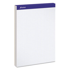 Quadrille Double Sheets Pad, 8 1/2 x 11 3/4, White, 100 Sheets