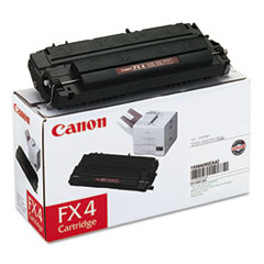 FX4 (FX-4) Toner, 4000 Page-Yield, Black