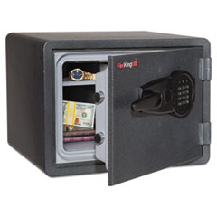 One Hour Fire and Water Safe with Electronic Lock, 0.85 cu. ft., Graphite