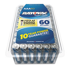 Alkaline Battery, AAA, 60/Pack