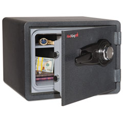 One Hour Fire and Water Safe with Combo Lock, 0.85 cu. ft., Graphite