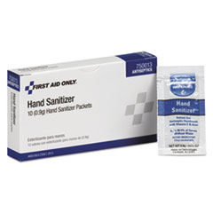 SANITIZER,HAND,10/BX
