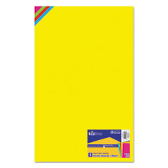 Premium Coated Poster Board, 14 x 22, Assorted, 5/Pack