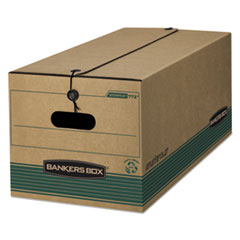 STOR/FILE Medium-Duty Strength Storage Boxes, Legal Files, 15.25