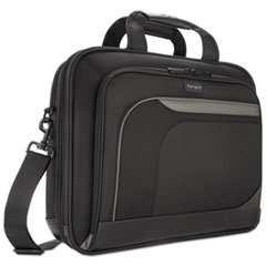 "15.4"" Mobile Elite Checkpoint-Friendly Topload, 4 1/2 x 15 3/4 x 12 1/2, Black"