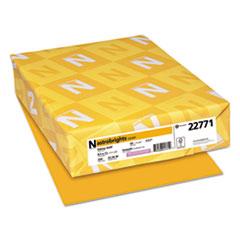 Color Cardstock, 65lb, 8 1/2 x 11, Galaxy Gold, 250 Sheets