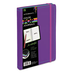 Astrobrights Journal, Ruled, 8 1/4 x 5 1/8, Purple, 240 Sheets