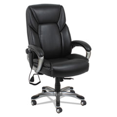 ALERA SHIATSU HEATED MASSAGE CHAIR BLACK SILVER FRAME