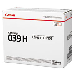 0288C001AA (039H) High-Yield Ink, Black