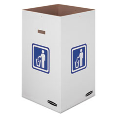 Waste and Recycling Bin, 42 gal, 18