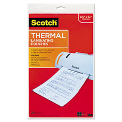 Menu Size Thermal Laminating Pouches, 3 mil, 11 x 17, 20/Pack