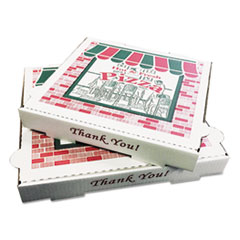 "12"" PIZZA BOX GENERIC PRINT 50CS"
