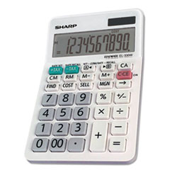 EL-330WB Desktop Calculator, 10-Digit LCD