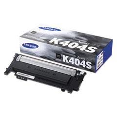 CLT-K404S/XAA Toner, 1500 Page-Yield, Black
