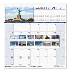 Recycled National Monuments Monthly Wall Calendar, 12 x 12, 2018