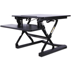 ActivErgo WorkRise Sit-Stand Lifting Workstation, 26 3/4 x 31 x 19 5/8, Black