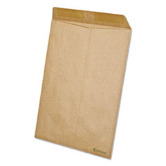 Earthwise 100% Recycled Paper Catalog Envelope, 9 x 12, Kraft, 110/BX
