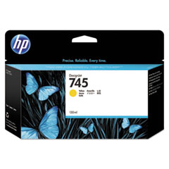 HP 745 (F9J96A) Yellow Original Ink Cartridge