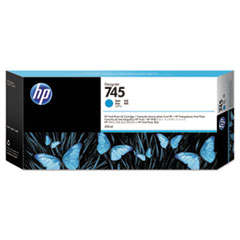 HP 745 (F9K03A) Cyan Original Ink Cartridge