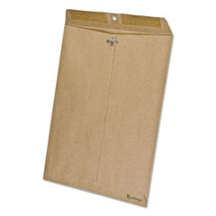 Earthwise 100% Recycled Paper Envelope, 10 x 13, Brown, 110/Box