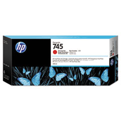 HP 745 (F9K06A) Chromatic Red Original Ink Cartridge
